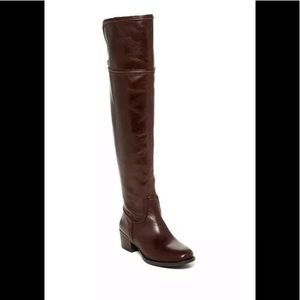 Vince Camuto Baldwin Over The Knee Leather Boots